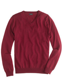 Merino wool v neck sweater medium 333768