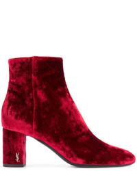Saint Laurent Babies 90 Ankle Boots