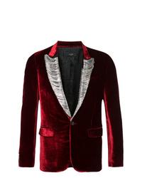 Amiri Embellished Velvet Blazer