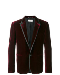 Saint Laurent Slim Velvet Blazer