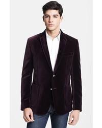 Versace Velvet Wool Blazer