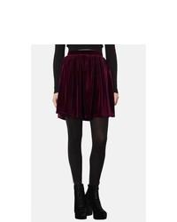 Velvet skater skirt medium 354020