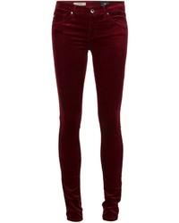 Skinny velvet trousers medium 366252