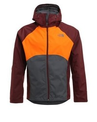 Sequence hardshell jacket greyorangebordeaux medium 4205486