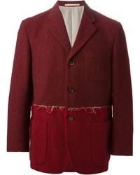 Comme des Garcons Comme Des Garons Vintage Bordeau Blazer Jacket