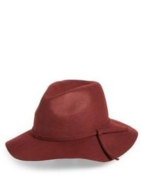 Emanuel Geraldo Knot Band Wool Felt Panama Hat