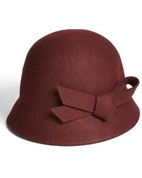 Wool bow cloche medium 341625