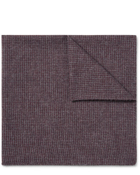 Oliver Spencer Checked Organic Cotton Blend Pocket Square