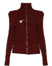 Isabel Marant Daley High Neck Zip Through Sweater