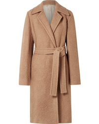 Helmut Lang Alpaca And Wool Blend Coat