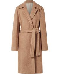 Helmut Lang Alpaca And Wool Blend Coat