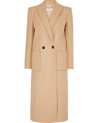 Givenchy Double Breasted Wool Felt Coat