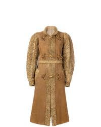 Christian Dior Vintage Mandarin Knot Toggled Coat