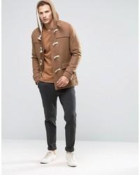 Högland Avgång Passiv  Selected Homme Wool Duffle Coat, £173 | Asos | Lookastic UK