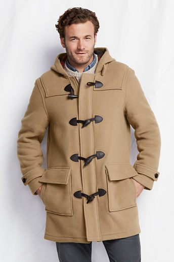 Lands' End Tall Wool Duffle Coat | Where to buy & how to wear