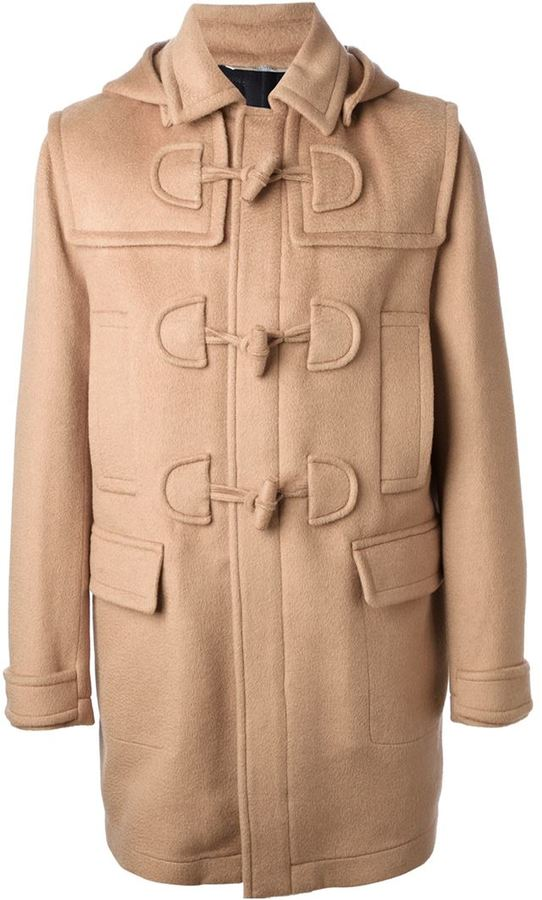 Valentino Toggle Fastening Duffle Coat   Where to buy & how to wear