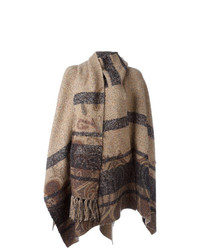 Etro Striped Cape
