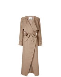 Camel Linen Coat