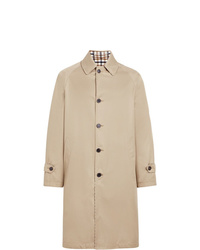MACKINTOSH Beige Reversible Cotton Wool Overcoat Gm 112