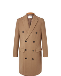 Salle Privée Ives Double Breasted Wool Blend Overcoat