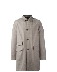 Kiton Reversible Single Breasted Coat