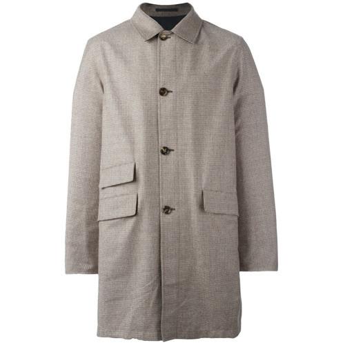 Kiton Reversible Single Breasted Coat