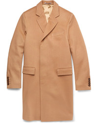 Gucci Single Breasted Lightweight Wool Overcoat