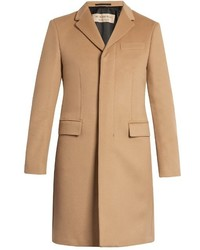 Burberry Single Breasted Wool And Cashmere Blend Coat