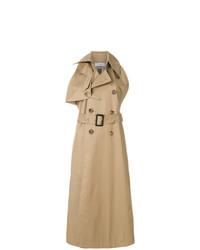 Facetasm Double Breasted Sleeveless Long Coat