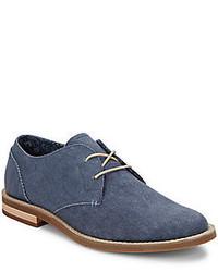 Canvas Derby Shoes
