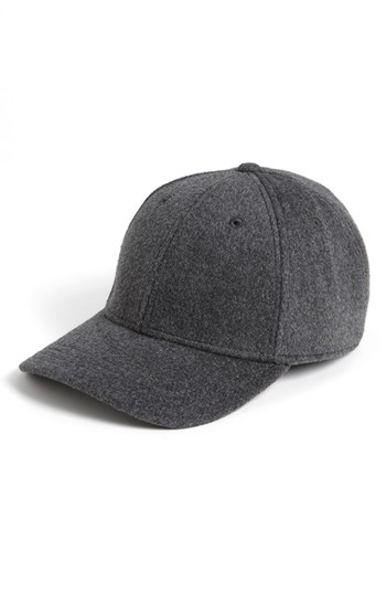 b05d388fa61 ... Gents Rabbit Hair Blend Baseball Cap Light Grey One Size