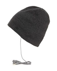 U R Fleece Tech Beanie Charcoal One Size