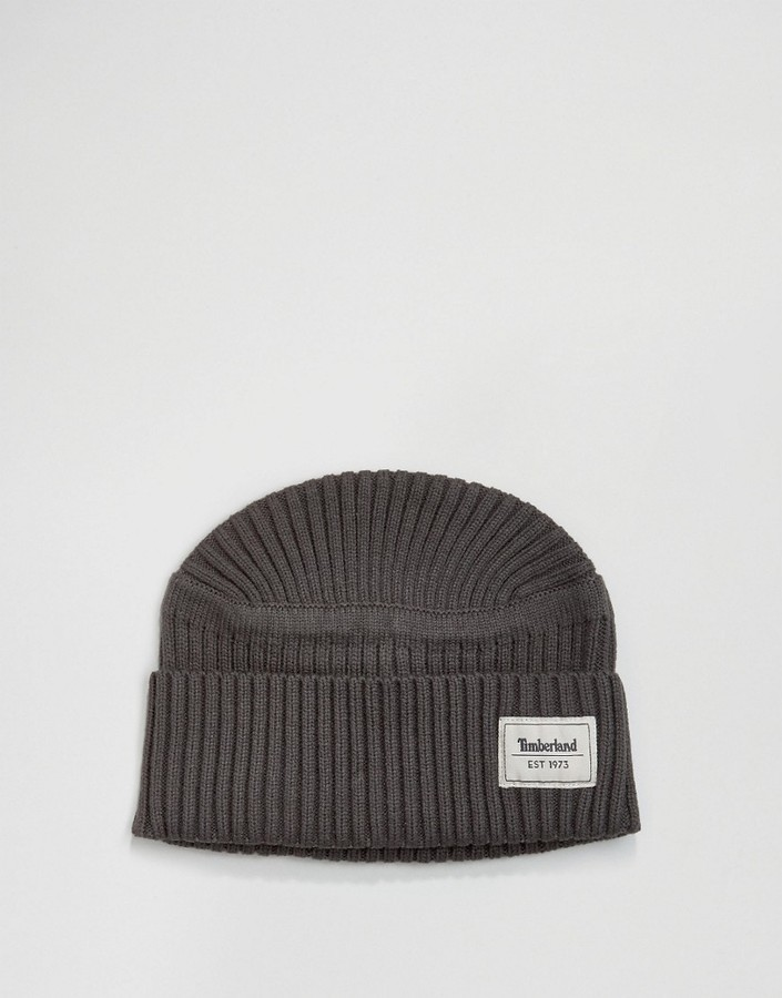 d9892af12 £19, Timberland Ribbed Beanie
