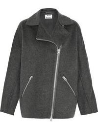 Charcoal Biker Jacket
