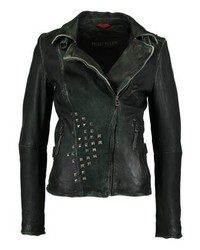 Blinding lights leather jacket anthracite medium 3993104