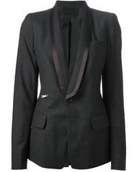 Charcoal blazer original 2140107