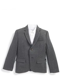 Boys Boss Kidswear Jersey Cotton Blazer