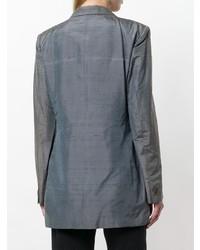 Romeo Gigli Vintage Iridescent Boxy Blazer