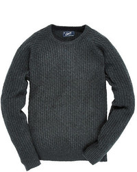 Charcoal Cable Sweater