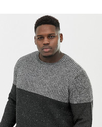 ONLY & SONS Colour Block Knitted Jumper