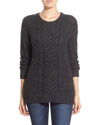 Treasurebond cable knit sweater medium 369375
