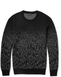 Dgrad wool jacquard sweater medium 385902