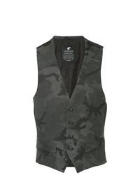 Loveless Camouflage Formal Vest