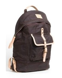 Charcoal Canvas Backpack