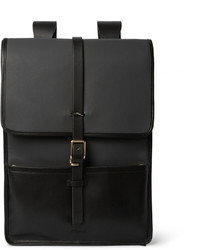 Harbour canvas and leather backpack medium 328893