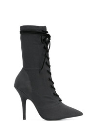 Yeezy Lace Up Ankle Boots