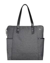 Charcoal Canvas Tote Bag