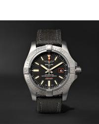 Breitling Avenger Blackbird Automatic 44mm Titanium And Canvas Watch Ref No V1731110bd74