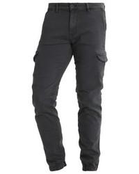 Tom Tailor Cargo Trousers Coal Mine Grey