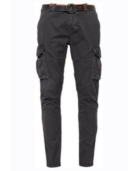 Superdry Core Cargo Trousers Atlantic Grey